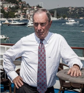 Michael Bloomberg returns as CEO of Bloomberg L.P. the company he founded in 1981