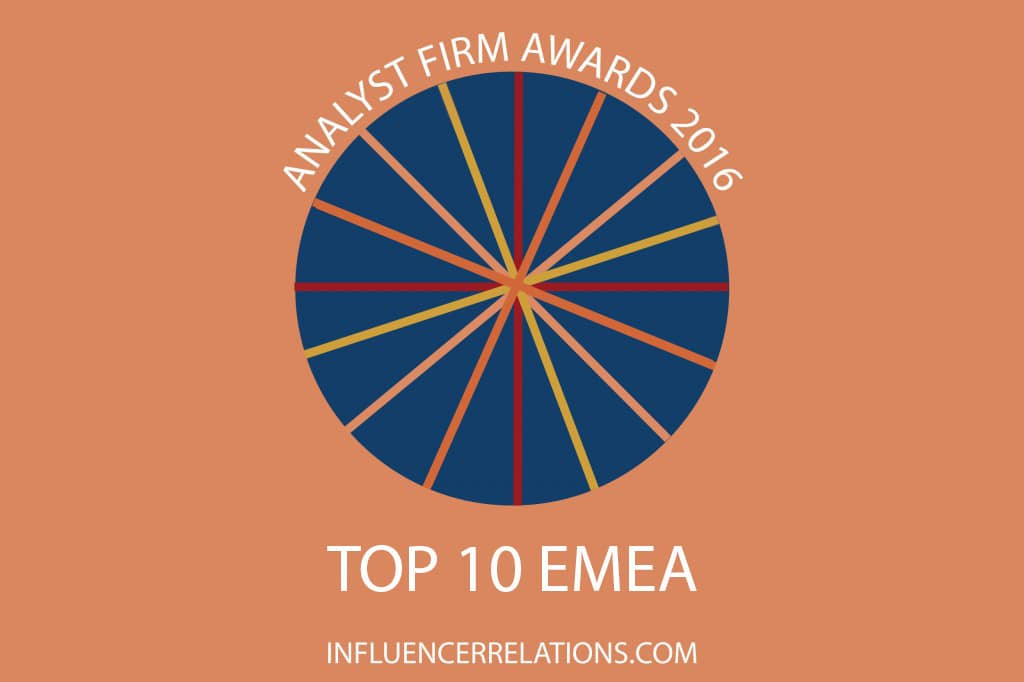 PAC overtakes Forrester in EMEA Analyst Firm Awards