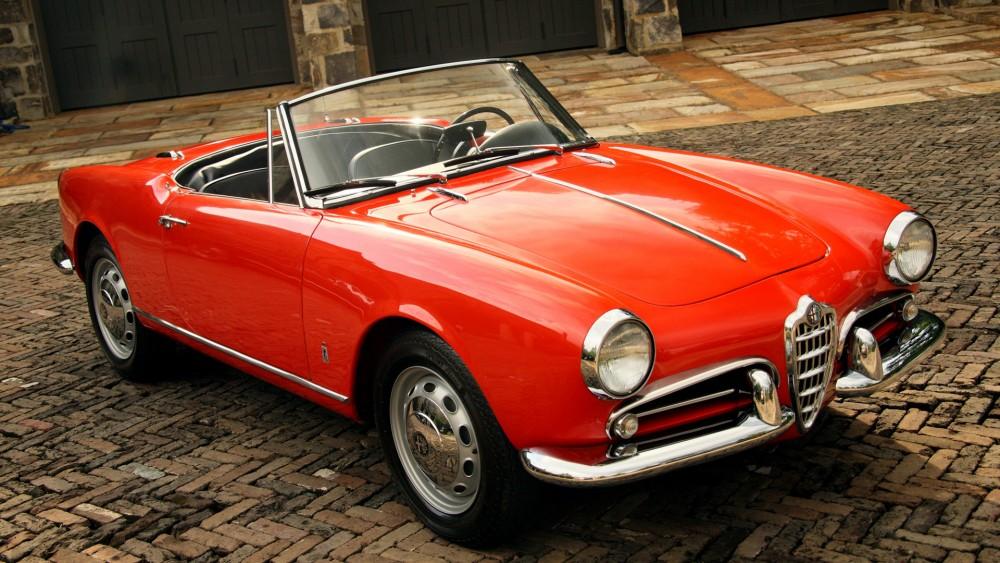 Car Crush Alfa Romeo Giulietta Spider - Influx