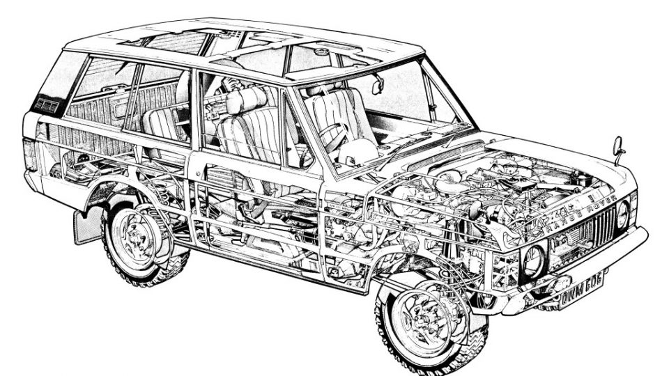 1970 land rover in camoflage