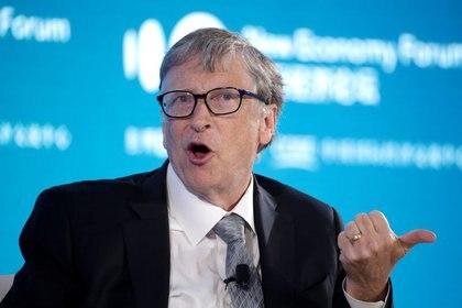 IMAGEN DE ARCHIVO. Bill Gates, copresidente de la Fundación Bill & Melinda Gates, durante una presentación en el Nuevo Foro Económico de Pekín 2019, China, Noviembre 21, 2019. REUTERS/Jason Lee