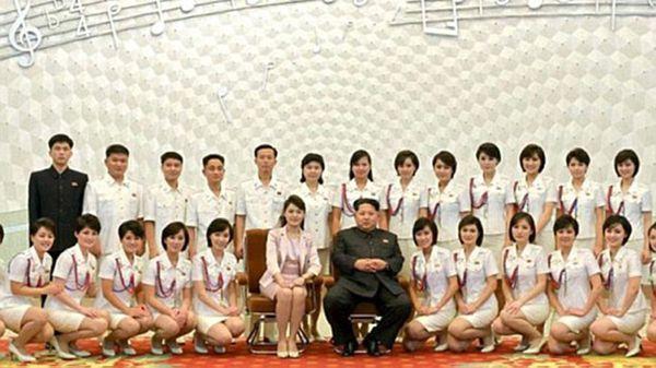 Las sirvientas personales de Kim Jong-un