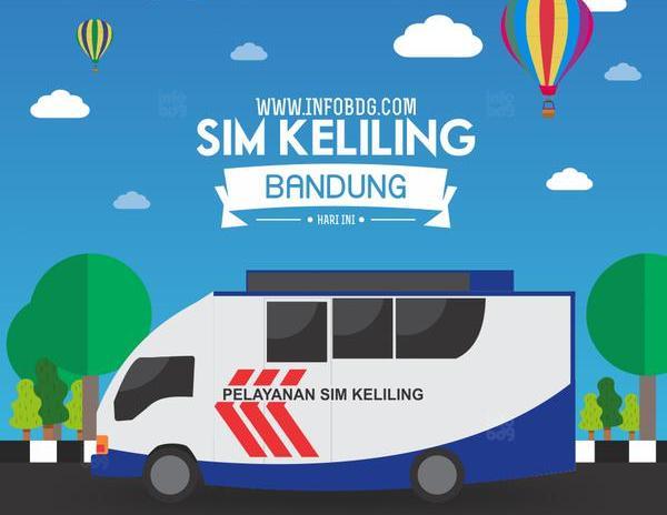 Jadwal SIM Keliling Bandung Maret 2020
