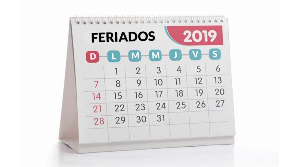 Consultá el calendario de feriados 2019 de la Argentina PORTAL