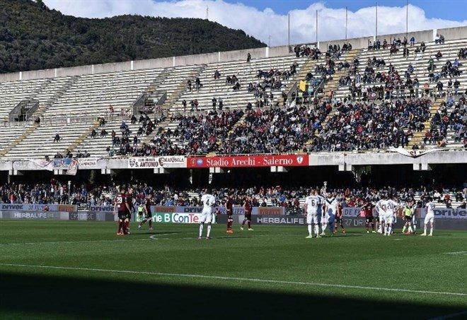 Salernitana illusoria, finisce 1-1 col Frosinone