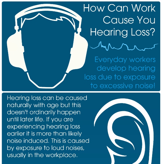 Could your Job be causing you Hearing Loss? (Infographic) - jobs for people with hearing loss