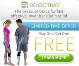 Beactive Pressure Brace Effective Sciatic Bac…