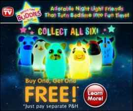 Bright Time Buddies Night Light Friends for Kids