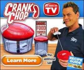 Crank Chop Pull Cord Food Chopper