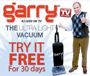 Try the Garry Vac Free!
