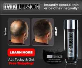 Hair Illusion Natural Hair Concealer for Men …
