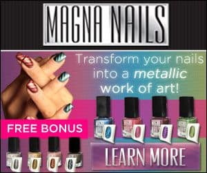 magna nails metallic nail polish
