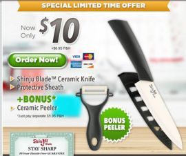 Shinju Blade Ceramic Knife That Stays Sharp F…