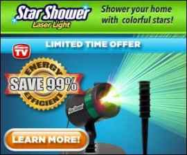 Star Shower Laser Light | Outdoor Holiday Lig…