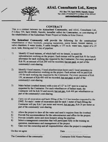 Agreement For Labour Contract Labour Contract Template Employment