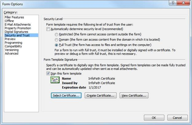 How to Create a Digital Certificate and Publish a Signed Template to