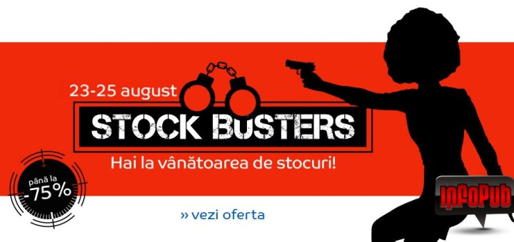 Campania Stock Busters la eMag