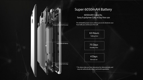 Ulefone power 4g batteria
