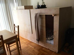 Man In San Francisco Pays $500 a Month to Live in a Wooden Box