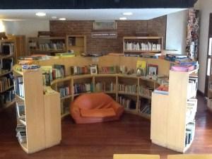 Biblioteca de la Alianza Francesa,  sala infantil