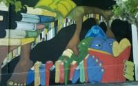 Mural en la ciudad de Colonia del Sacramento, Colonia, Uruguay