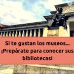 bibliotecas de museos