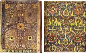 Evangelio de Lindau. Manuscrito hecho en la Alta Edad Media.