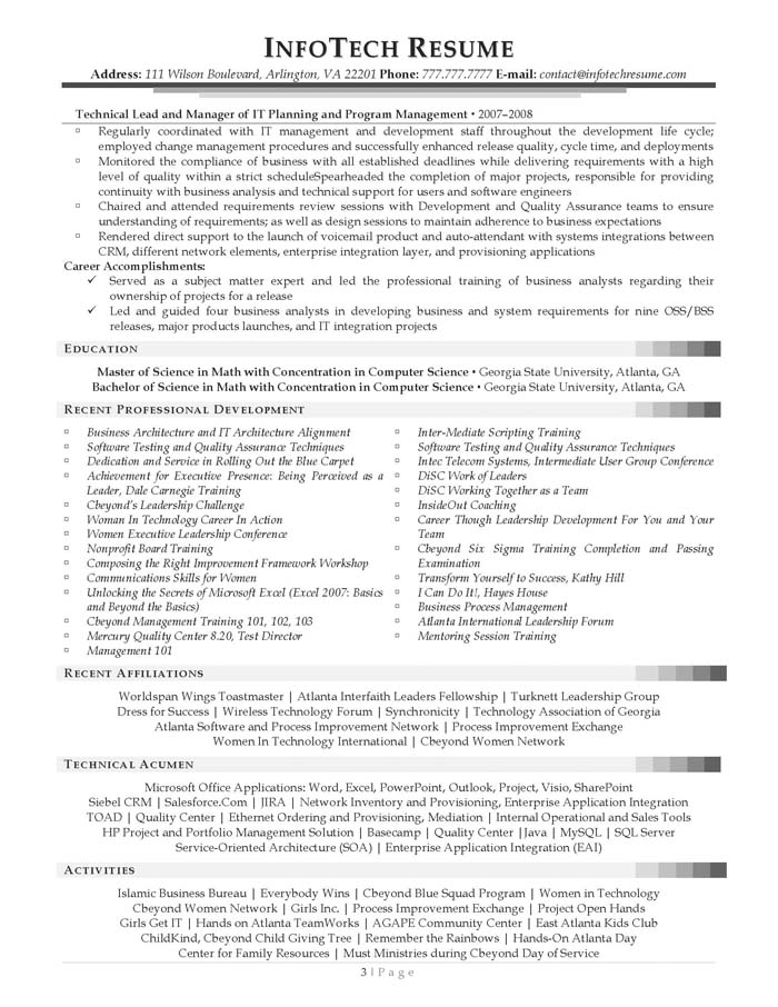sample resume for system analyst - Konipolycode