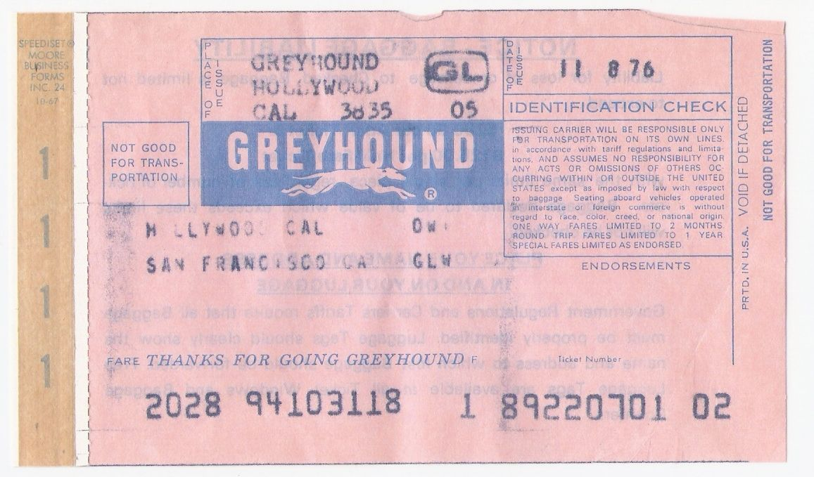 Greyhound Form \ Tag Pinterest Bus tickets - make your own tickets template