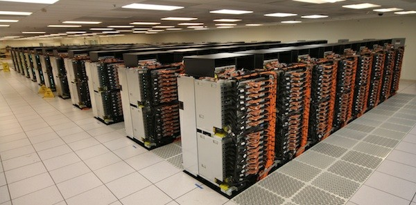 Supercomputador Sequoia - Imagem por TOP500