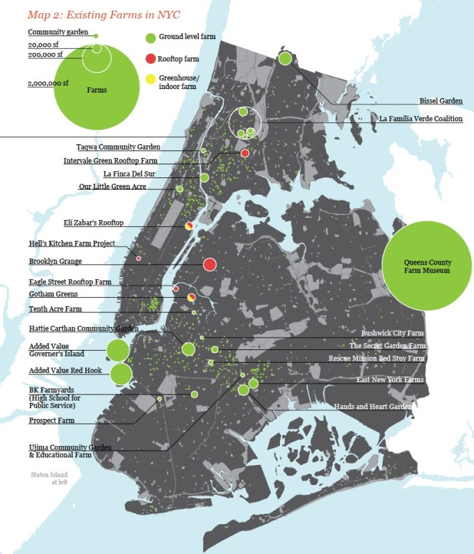The Potential for Urban Agriculture in New York City: Growing Capacity, Food Security, & Green Infrastructure