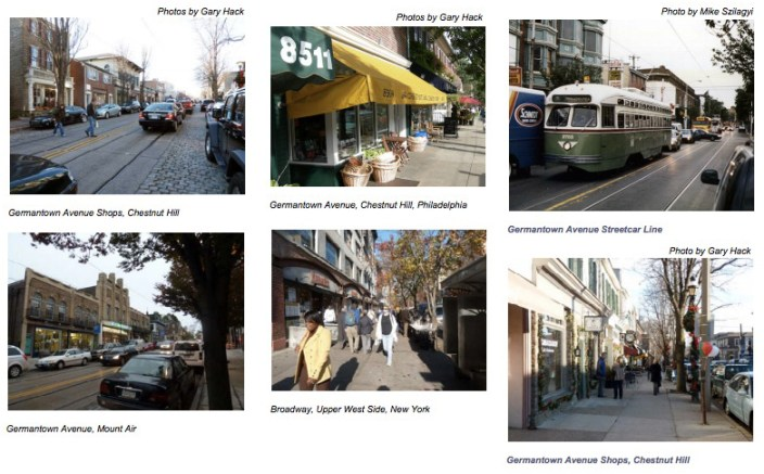 Pedestrian-Friendly Neighborhoods: Germantown Avenue, Philadelphia & Upper West Side, NYC