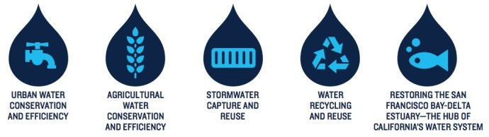 Water strategies and categories