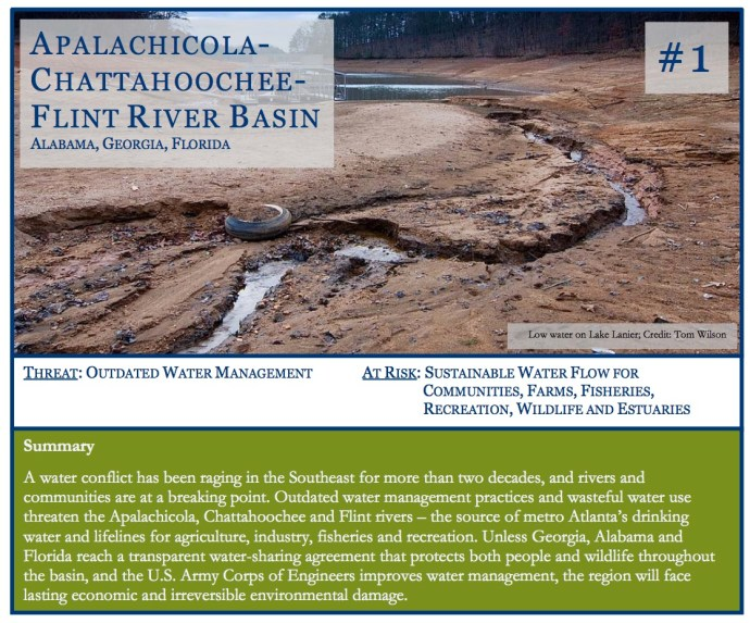 APALACHICOLACHATTAHOOCHEE-FLINT RIVER BASIN