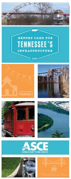 2016 Report Card for Tennessee's Infrastructure