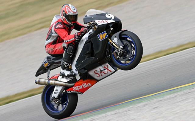 McWilliams, Valencia MotoGP Test 2004