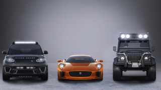 jaguar land rover james bond spectre film