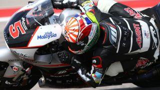 Zarco, Moto2, Grand Prix of the Americas, 2015.