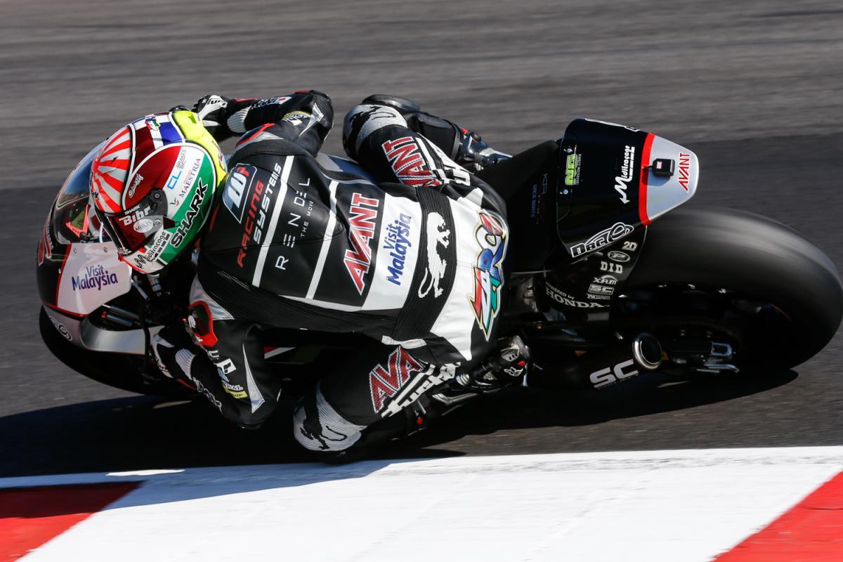 Moto2, volata a Zarco. 2° Folger, Pasini buon 4°