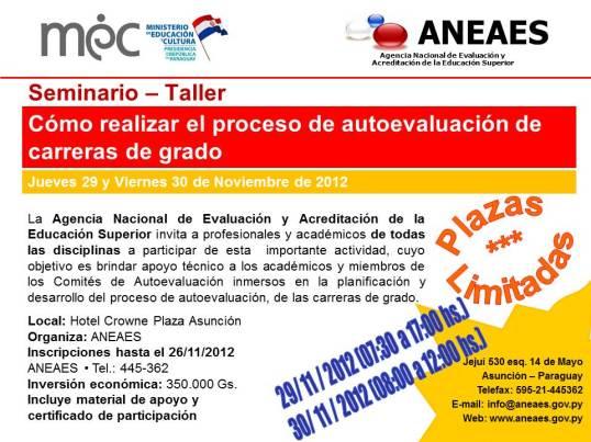 Seminario Taller2012
