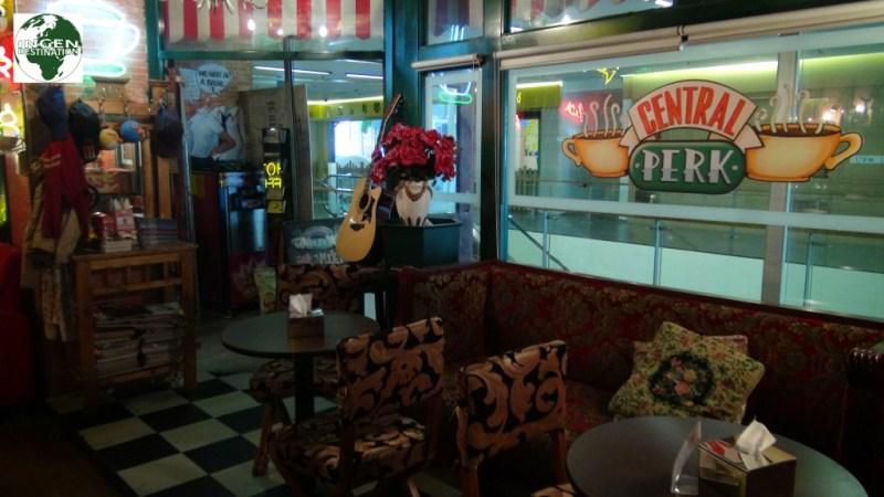 """Kopi caféen fra serien """"Venner"""""""