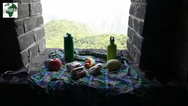 Picnic på den kinesiske mur