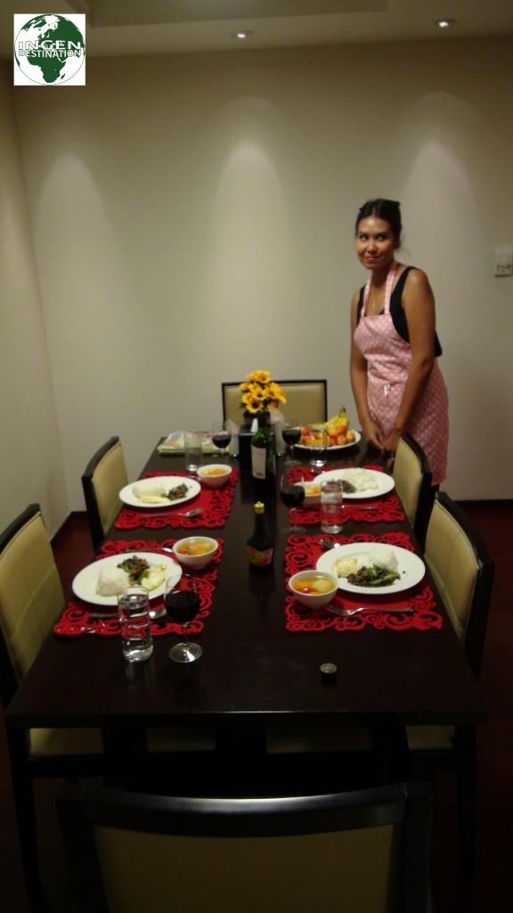 Vores første Thai middag nogensinde - og nok langt fra den sidste!