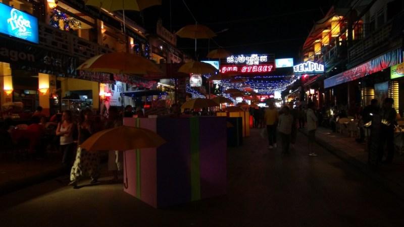 Bar gaden i Siem Reap