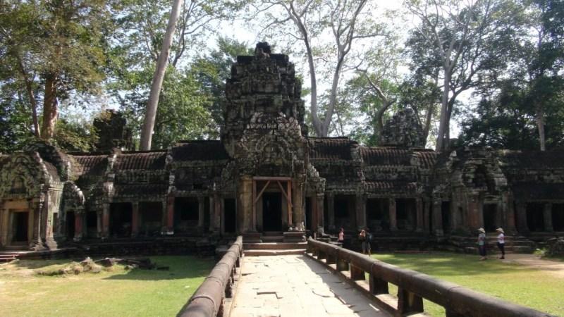 Angkor Wat, Ta Prohn, Siem Reap, Cambodia