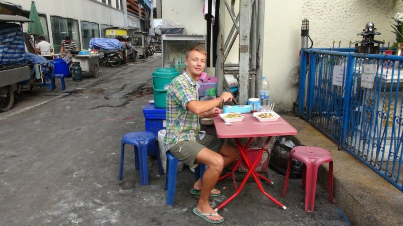 Gademad blandt rotter i Bangkok