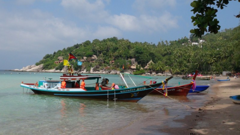 Koh Tao, thailand, dykning, open water