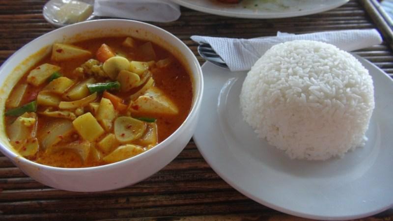 Tofu coconut amok - Cambodia