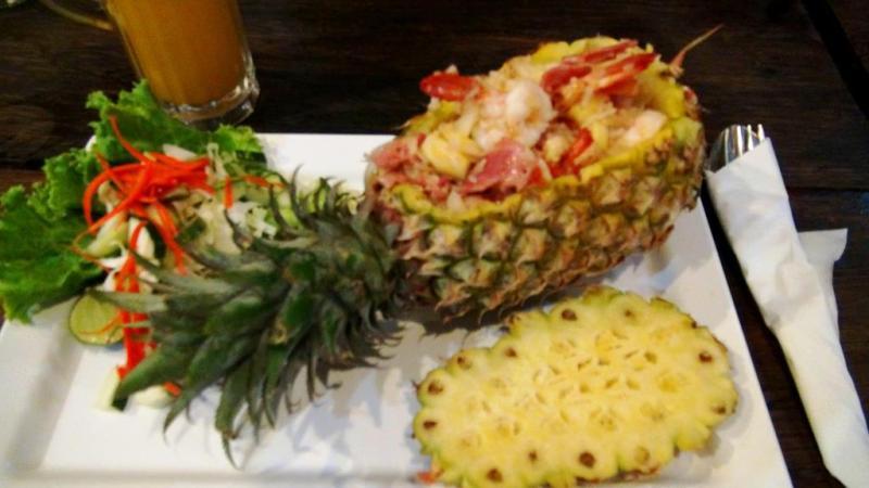 krabi, thailand,ananas
