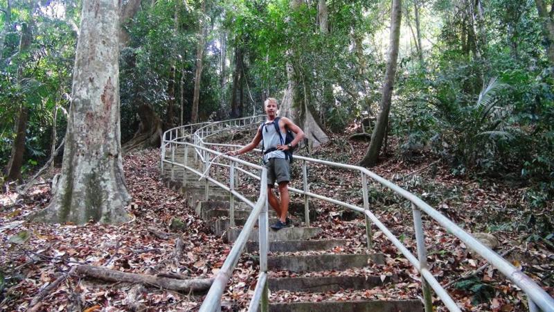 Cameron highlands, malaysia, trekking, hiking, til fods